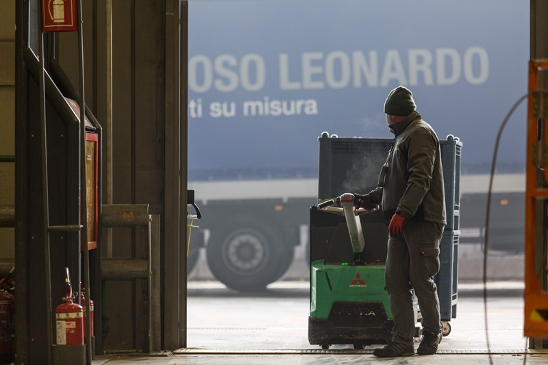 Prezioso Leonardo: Logistica per stand fieristici