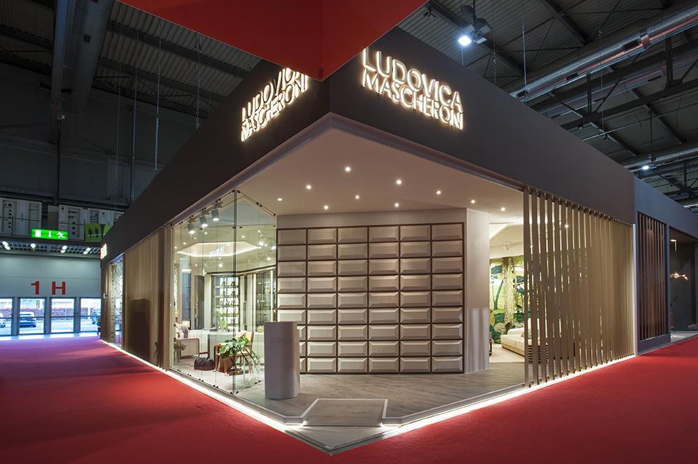 Stand Personalizzato Ludovica Mascheroni per la fiera del mobile del 2017