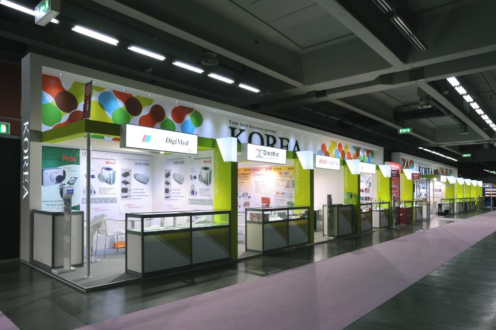 Consorzio Korea: Stand collettive realizzato