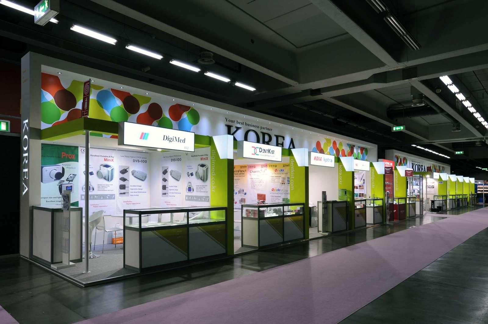 Allestimenti stand collettivi: Stand realizzato per Korea