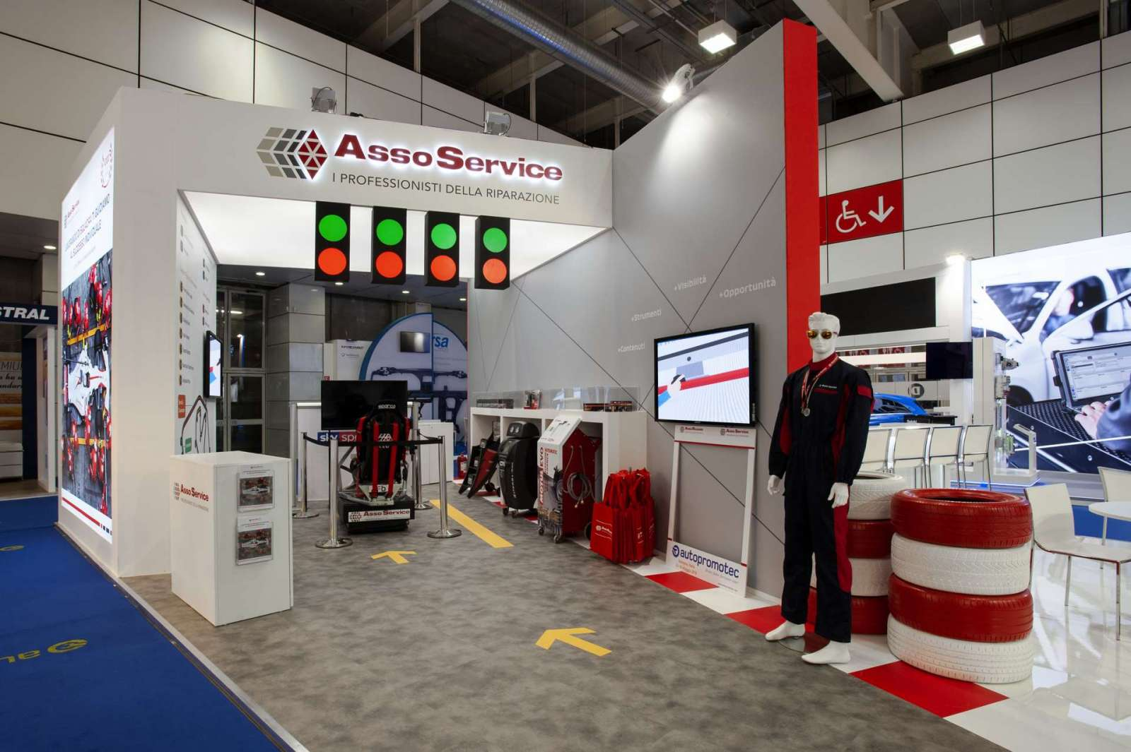 Interno stand personalizzato AssoRicambi - Foto 3