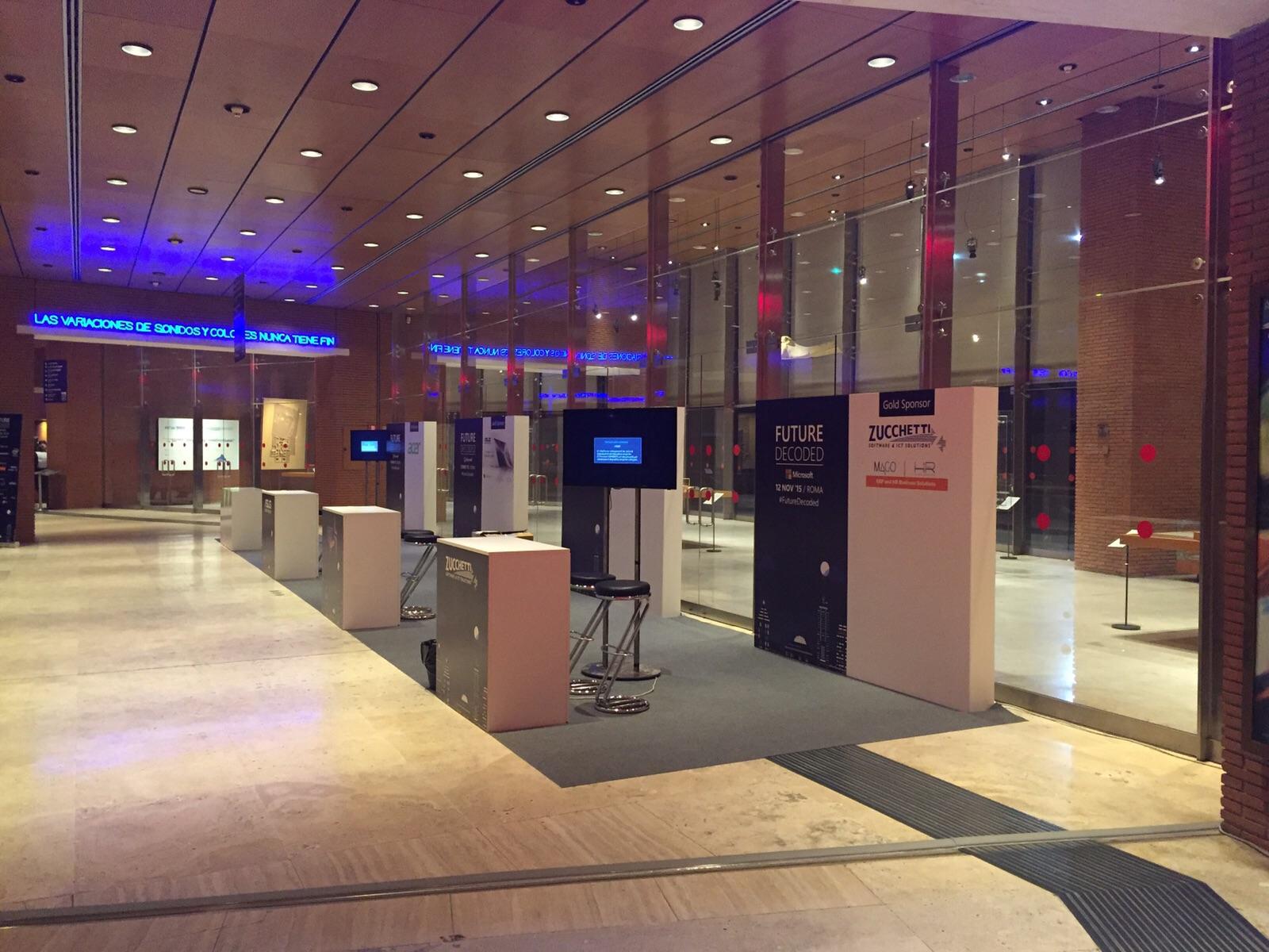 Microsoft: Stand evento congresso