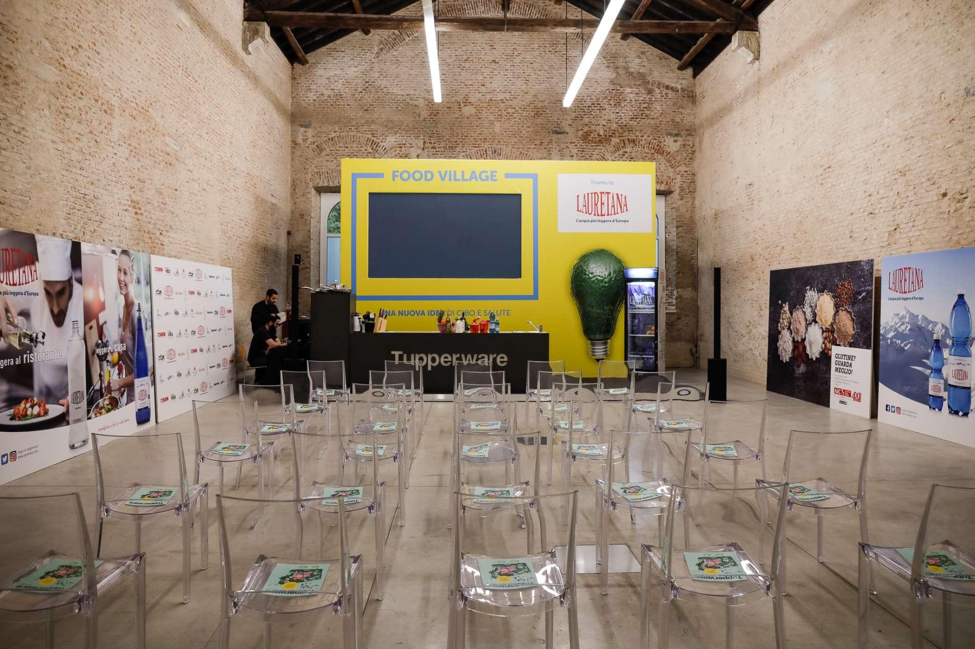 Stand evento Taking Care Museo della Scienza