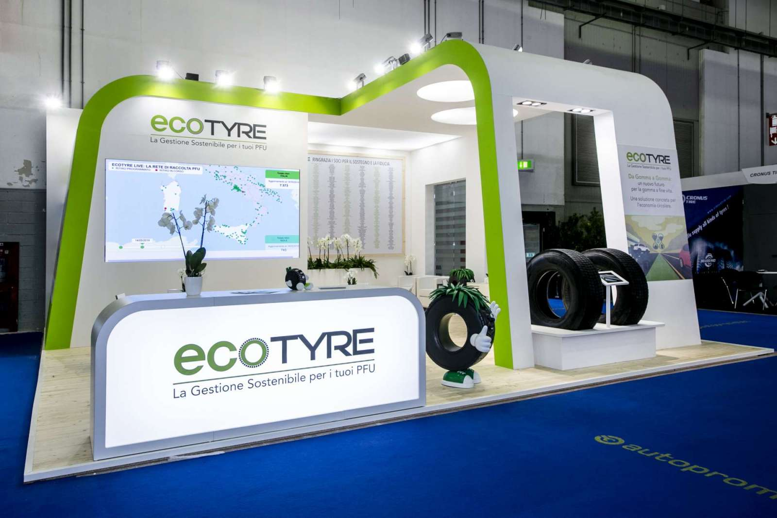 Stand personalizzato Ecotyre
