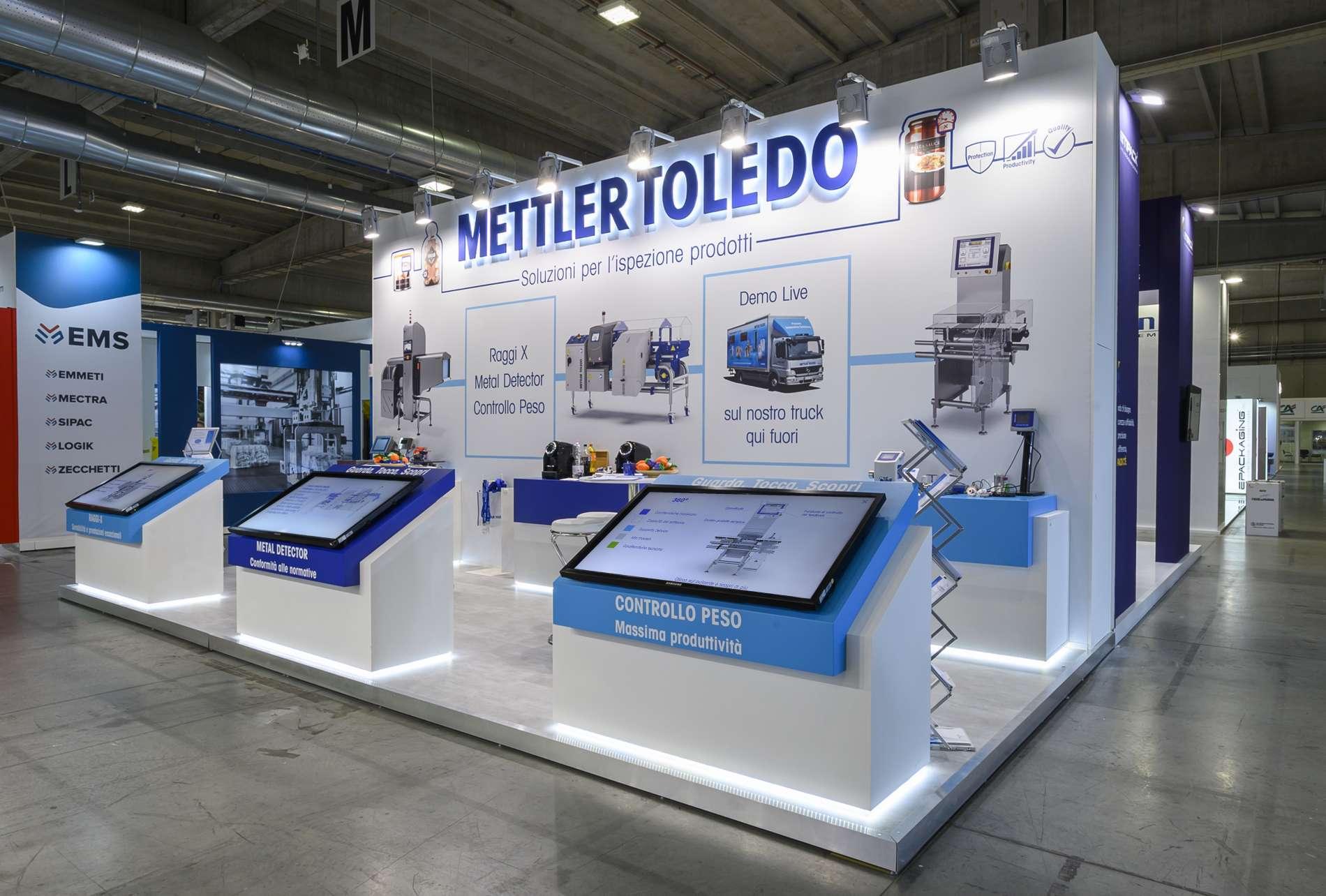 stand personalizzato mettler toledo 02
