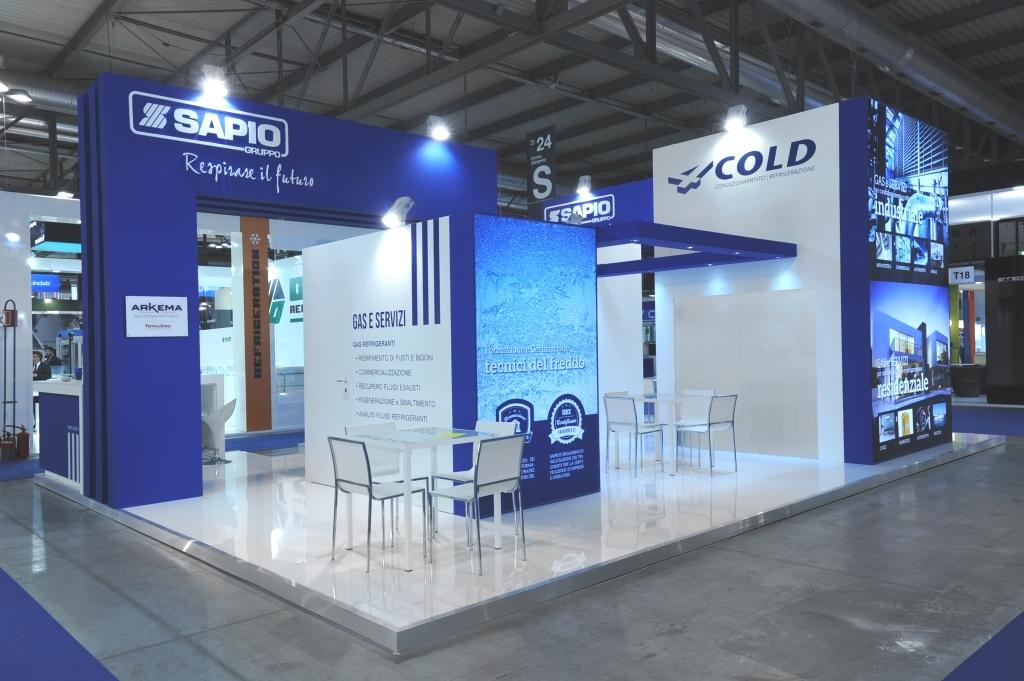 Gruppo Sapio: Stand personalizzato