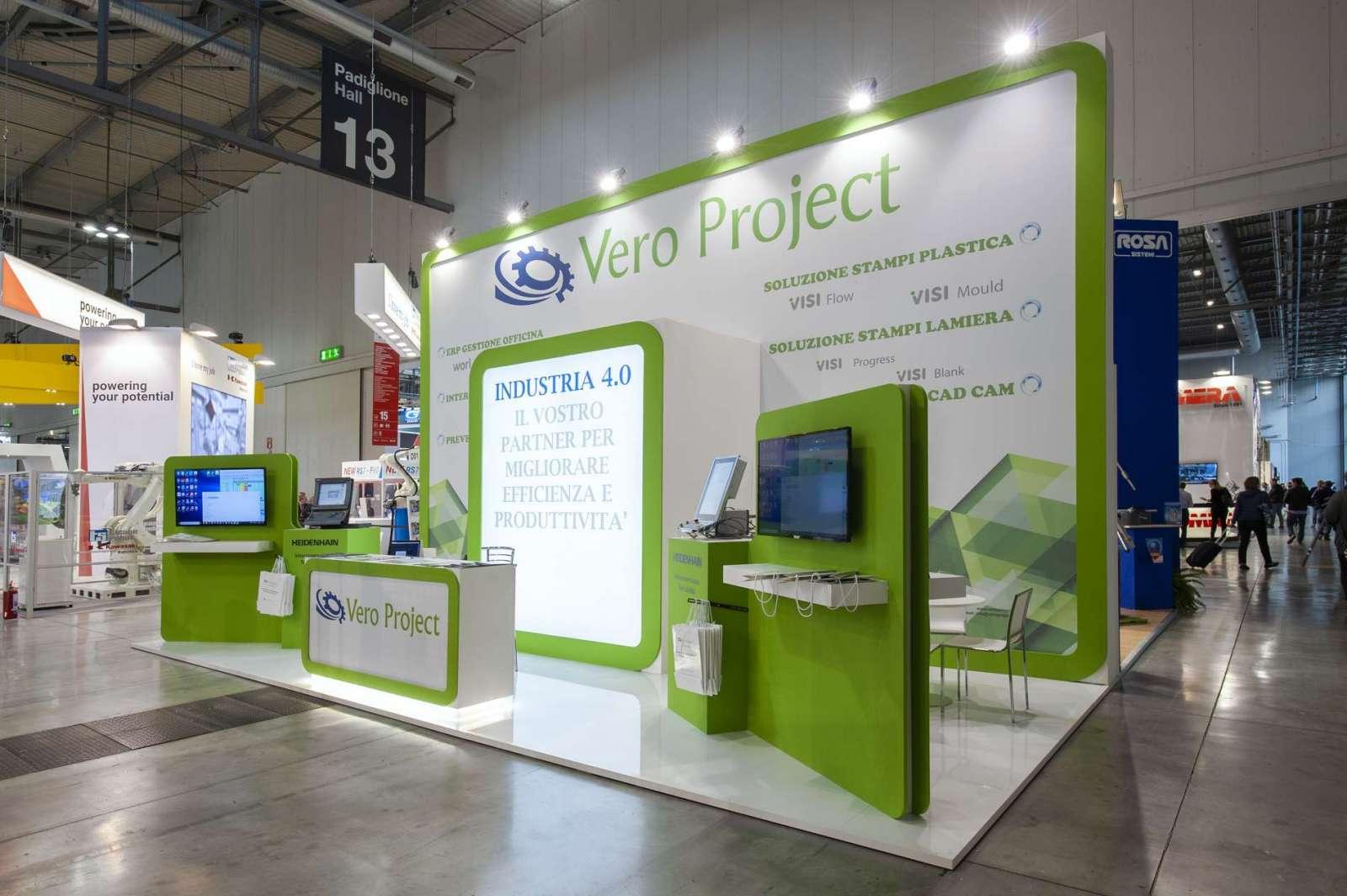 Vero Project: Stand personalizzato realizzato da Prezioso Leonardo